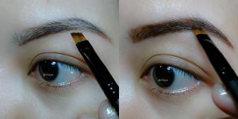 3 fill the eyebrow
