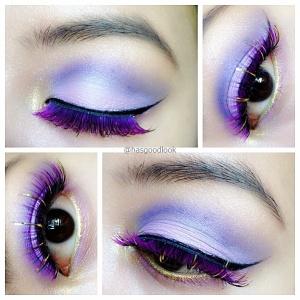 playful purple