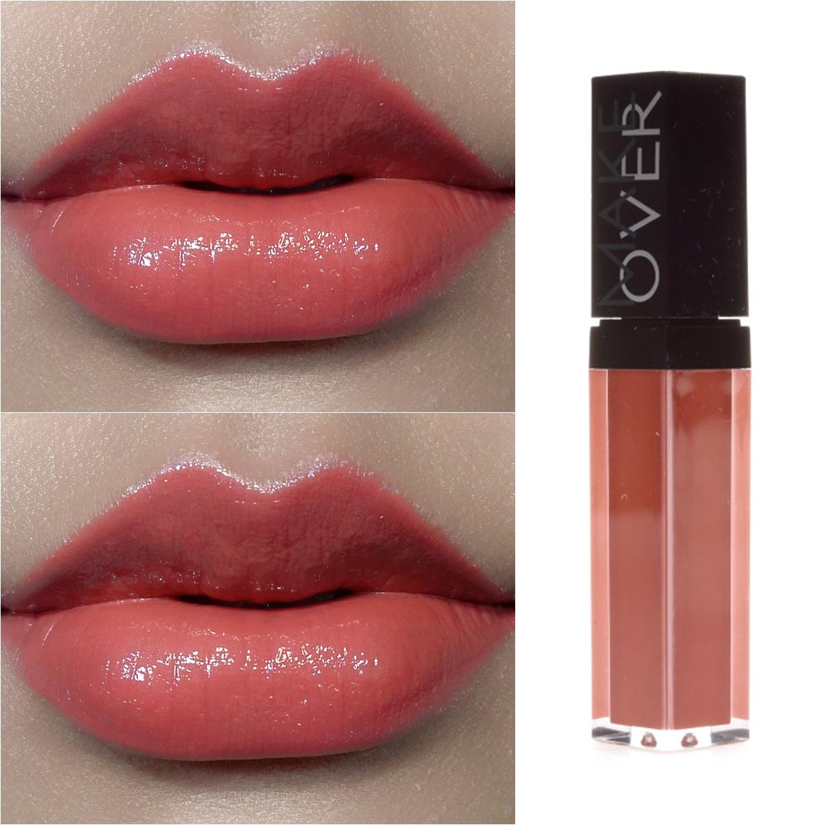 Makeover Liquid Lip Color Review And Swatch Hasgoodlook Make Over Intense Matte Cream Lipstick Lipstik Hazelnut