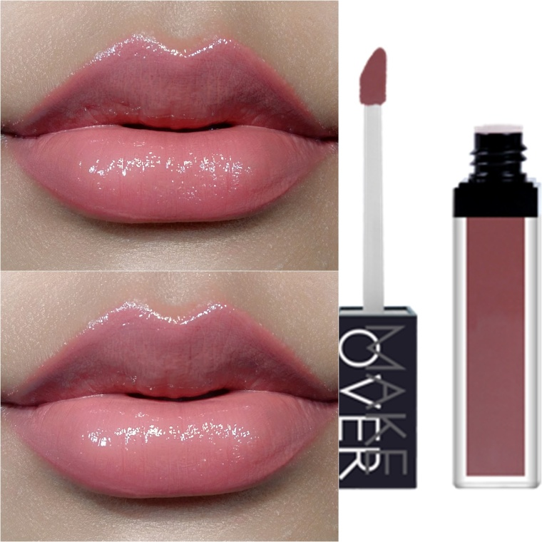 makeover liquid lip kissable peach