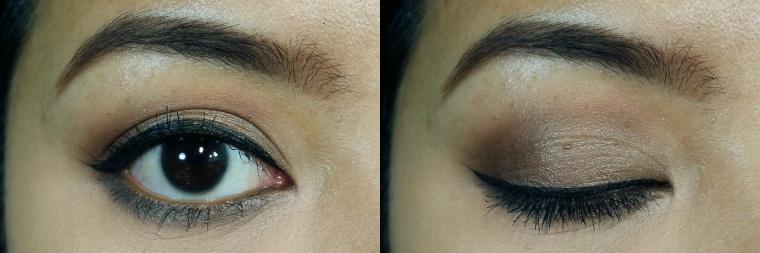 taupe-ish smokey eyes